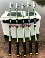 Telescopic Fishing Rod Carbon Fiber Hand Pole Spinning Ultralight Portable Stand
