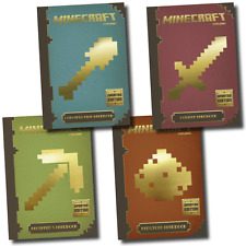 Minecraft The Complete Handbook 4 Books Update Version Collection Set
