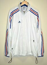 ADIDAS FRANCE FFF FOOTBALL 2004 TRAINING TRACKSUIT TOP JACKET JERSEY SHIRT M