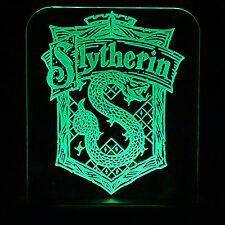 Harry potter Slytherin green led light /  night light