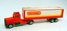 """Matchbox Superfast Two-Pack 24A Peterbilt Box Truck """"Matchbox"""""""