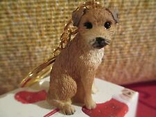 BORDER TERRIER ~ KEY CHAIN ~ GREAT GIFT ITEM