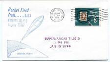 1973 Wallops Island ROCKET FIRED Super Arcas T1.6215 WFF Goddard Base NASA