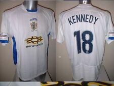 Bury MATCH SHIRT TOM KENNEDY JERSEY Sporta Giocatore Calcio Soccer Adulto XL TOP
