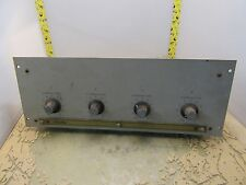Scully type 280 playback level control w/ amplifier cards [R-7]