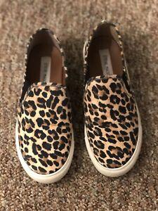 Steve Madden Safary Slip On Comfort Shoes - Women's Size 6M, Leopard