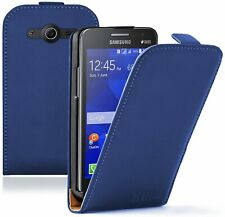 Leather Mobile Phone Samsung Galaxy Core 2  - Flip Case Cover Pouch