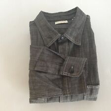 Dockers Men's Medium Black 2 Pocket Long Sleeve Shirt