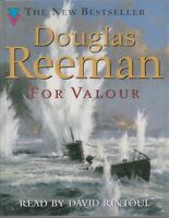 Douglas Reeman For Valour 2 Cassette Audio Book Abridged War Military FASTPOST