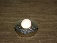 VINTAGE METAL DECORATIVE  RING or PILL BOX
