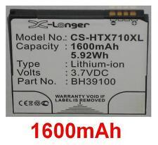 Batterie 1600mAh type BH39100 Pour HTC X710a
