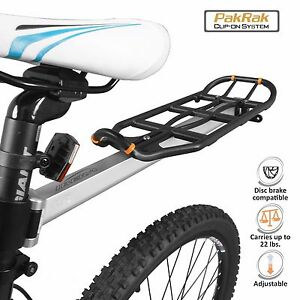 Ibera Bicycle Rear Rack Seatpost-Mounted Commuter Carrier & Pannier Cycling Rack