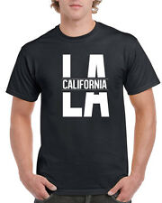 LA California T-Shirt for Men Republic Cali Life Bear Los Angeles Flag Weed