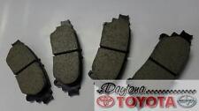 GENUINE TOYOTA 2003 - 2007 Toyota Corolla OEM Front Brake Pad Kit 04465-AZ022