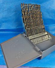 Lastcut 60 Pc Black Amp Gold Drill Bit Set 1 To 60 Huot Case135 Sp Industrial