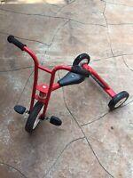 Vintage Red Tricycle Used