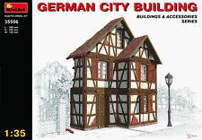 Seconde guerre mondiale Allemand City Construction KIT MODÉLISME MIN35506