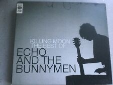 ECHO AND THE BUNNYMEN BEST OF 2CD MOON CUTTER BACK TERRACE PROMISE HORSES RESCUE