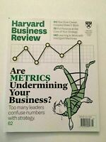K)  New Harvard Business Review Metrics Strategy October 2019 Business Magazine