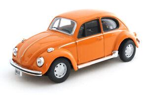 VW Beetle orange, Cararama Auto Modell 1:43