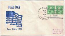 USS STEWART June 14, 1936, CHEFOO / CHINA, Flag Day cachet, scuttled