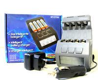 ENERpower EP-BT-C700 Intelligentes Ladegerät für AA / AAA Ni-Mh / Ni-Cd GS