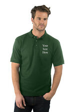 Personalised custom embroidered Premium Polo Shirt,XS TO 3XL,Bottle,Company Logo