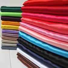 Satin Fabric Soft Silk Material High Dense Sewing Decoration Chiffon Wed Bridal