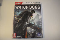 livre book guide officiel watchdogs watch dogs prima neuf sous blister