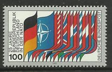 Alemania Occidental. 1980 25 aniversario de la OTAN Conmemorativa Sg: 1914. mnh.