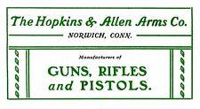 Hopkins & Allen c1901 - Forehand Guns Catalog