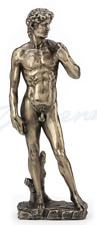"King David - By Michelangelo - A Masterpiece - 7.5"" High FigureStatue Scupture"