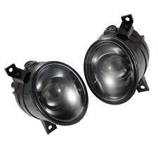 PROJECTOR Fog Light Lamp Pair Black for VW GOLF GTI MK5 JETTA 06-09