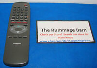 TOSHIBA VHS VCR REMOTE CONTROL ----- VC-661T--- with TV