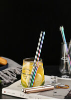 Collapsible Reusable Straw Portable Stainless Steel Telescopic Drinking Travel