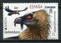 Spain 2019 MNH Bearded Vulture Europa 1v Set Vultures Birds Stamps