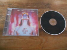 CD Indie Nick Cave And The Bad Seeds - Let Love In (10 Song) MUTE INTERCORD jc