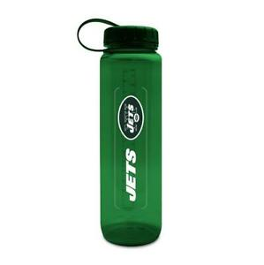 LOT OF TWO (2) NEW YORK JETS, 33 oz ENERGY, PLASTIC WATER BOTTLES (CLOSEOUT)