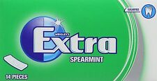 Wrigley Extra Suger Free - Spearmint Soft Chewing Gum  (Case of 12)