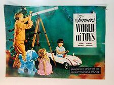 Vintage Catalogue's - Farmer's World of Toys Sydney 1969