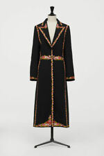 GIAMBATTISTA VALLI x H&M Black Coat with Embroidery Size M - Brand NEW with Tags