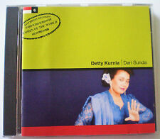 "DETTY KURNIA (INDONESIA) - CD - ""DARI SUNDA"" - 1997 - RIVERBOAT RECORDS UK"