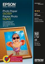 Epson (A4) 210 x 297 mm brillant Papier photo 200g/m2 (50 feuilles) pour