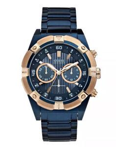 Bevilles Guess Jolt Men's Watch - W0377G4 Chronograph Blue RRP:$449