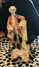 Vintage Made In Italy Figurine Sculpture Man
