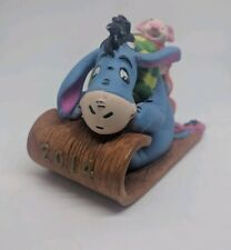 Eeyore and Piglet Grolier Disney Christmas Ornament 2014