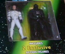 Star Wars POTF2 Escape Death Star Board Game 2-Pack Darth Vader Luke Skywalker