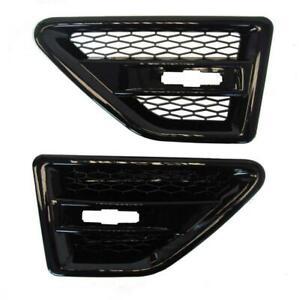Black Side Air Vents Compatible 10-14 Land Rover LR2 Freelander 2   FL18
