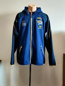 Leeds Rhinos Rugby Training Suit Top Hoodie Jacket Jersey ISC 2019 Mens 2XL #18