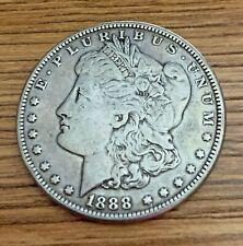 1888 Morgan Silver Dollar Ungraded Uncertified